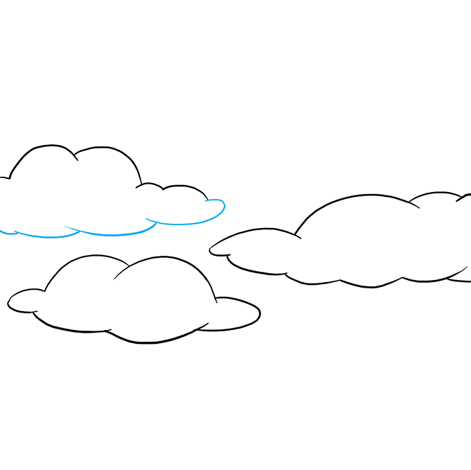 How to Draw Sky: Step 6