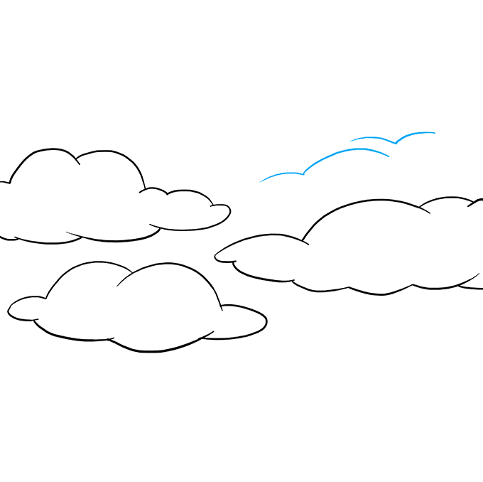 How to Draw Sky: Step 7
