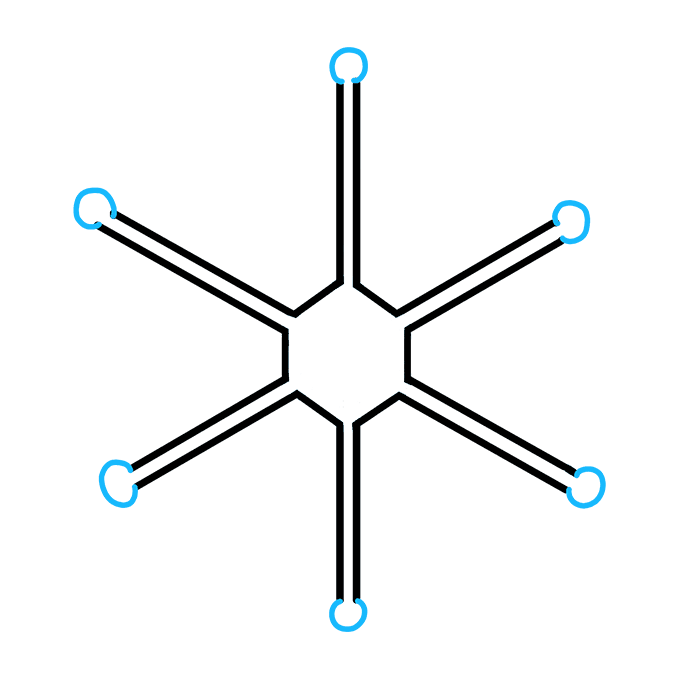 How to Draw Snowflake Step 06