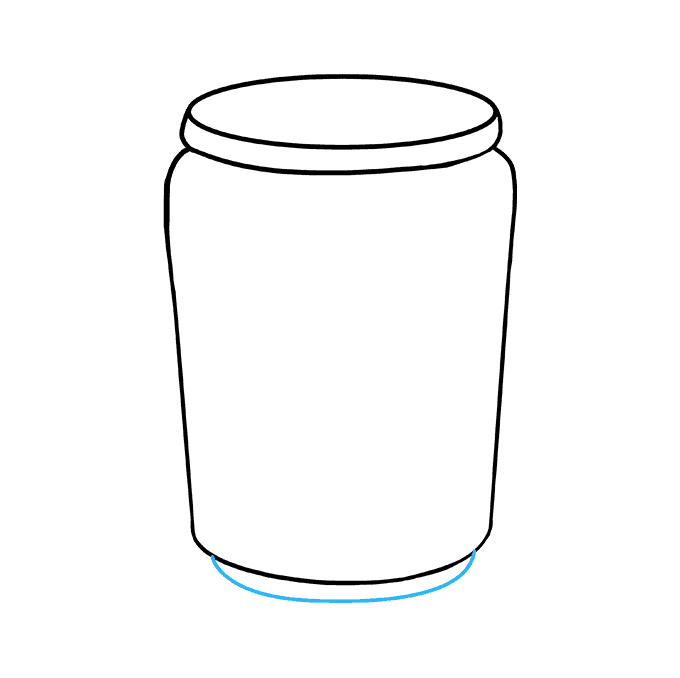 How to Draw Soda Can: Step 5