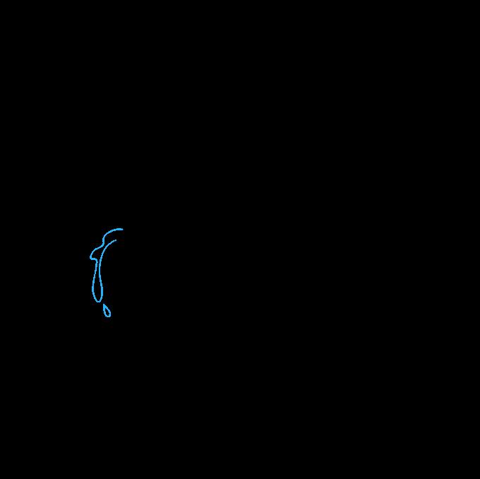 How to Draw Tears Step 06