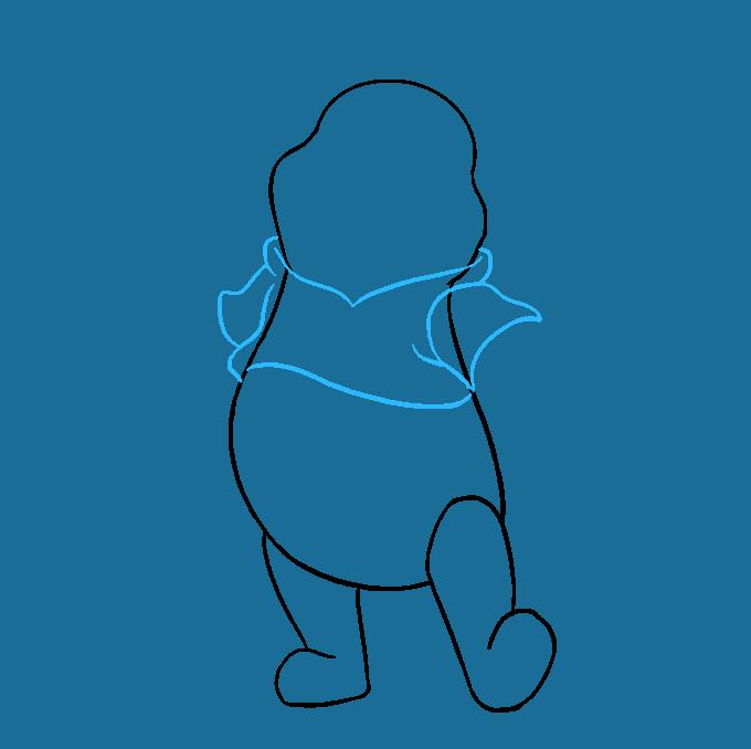 How to Draw Winnie the Pooh Step 06