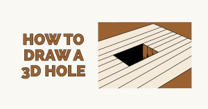 How to Draw a 3d Hole Featured Image