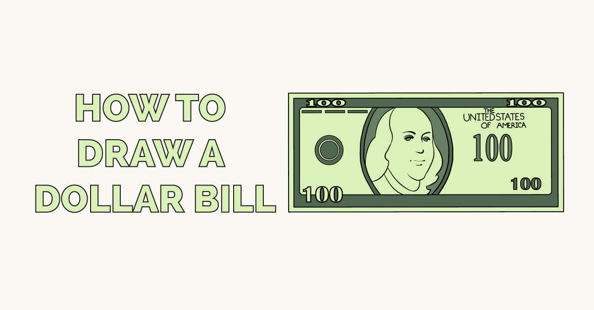 How to Draw a Dollar Bill Featured Image