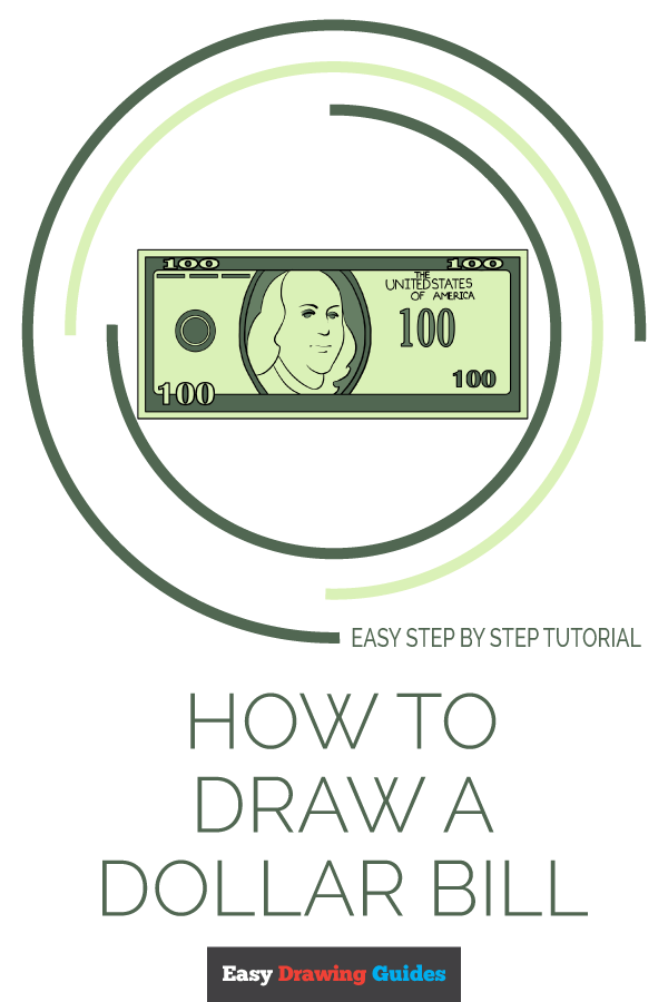 How to Draw Dollar Bill | Share to Pinterest