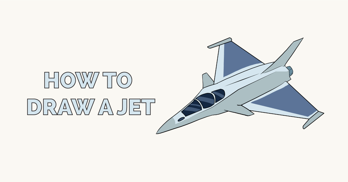 How to Draw a Jet Featured Image