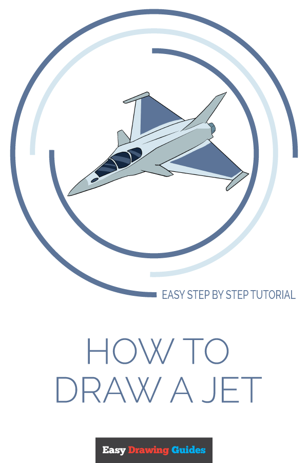 How to Draw Jet | Share to Pinterest