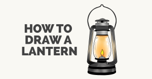 How to Draw a Lantern Featured Image