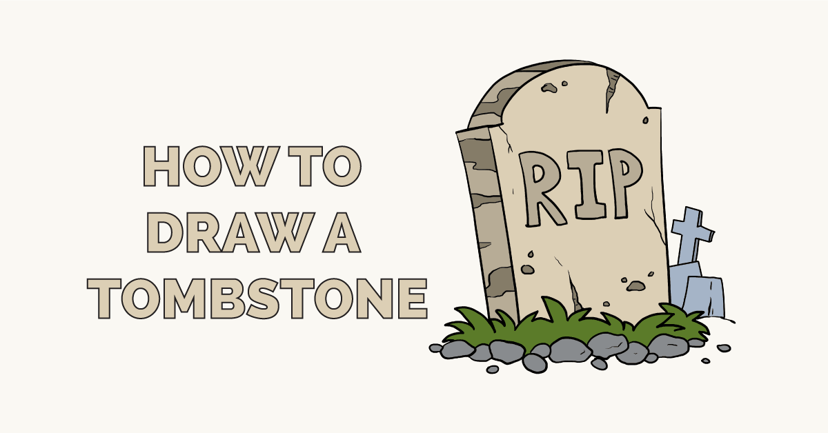 How to Draw a Tombstone Featured Image