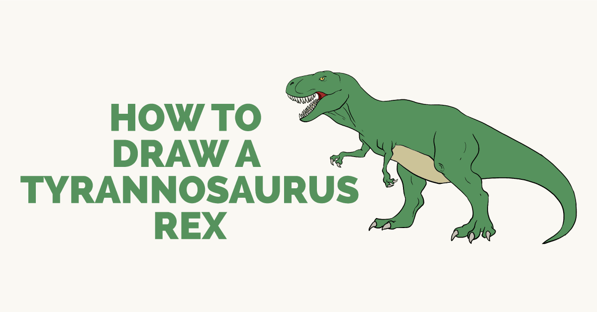 How to draw T-Rex - featured image