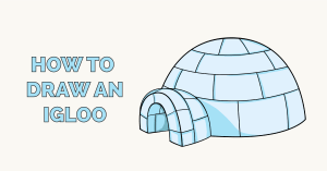 How to Draw an Igloo Featured Image