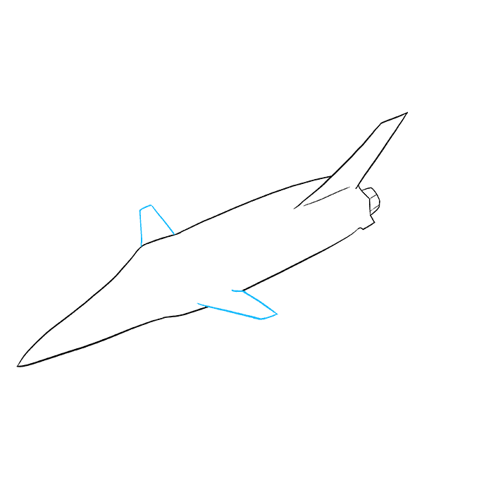 How to Draw Jet: Step 5