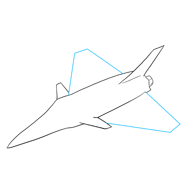 How To Draw A Fighter Jet Really Easy Drawing Tutorial