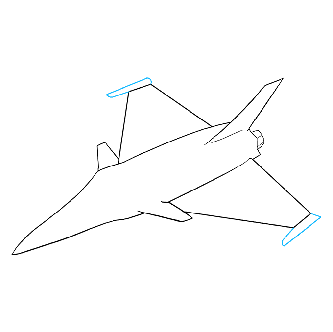 How to Draw Jet: Step 7