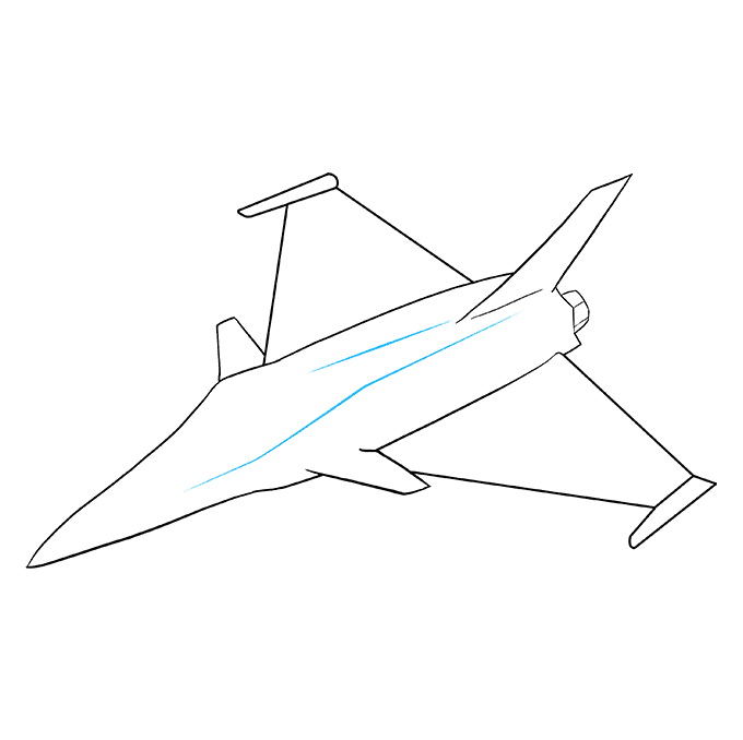 How to Draw Jet: Step 8