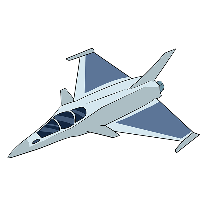 How to Draw a Jet 10