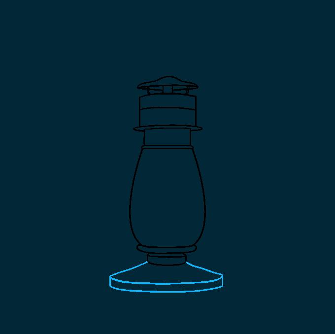 How to Draw Lantern: Step 5