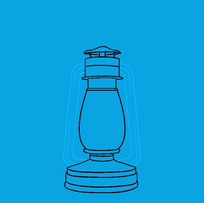 How to Draw Lantern: Step 7