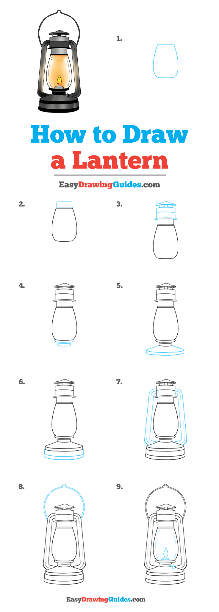 How to Draw Lantern