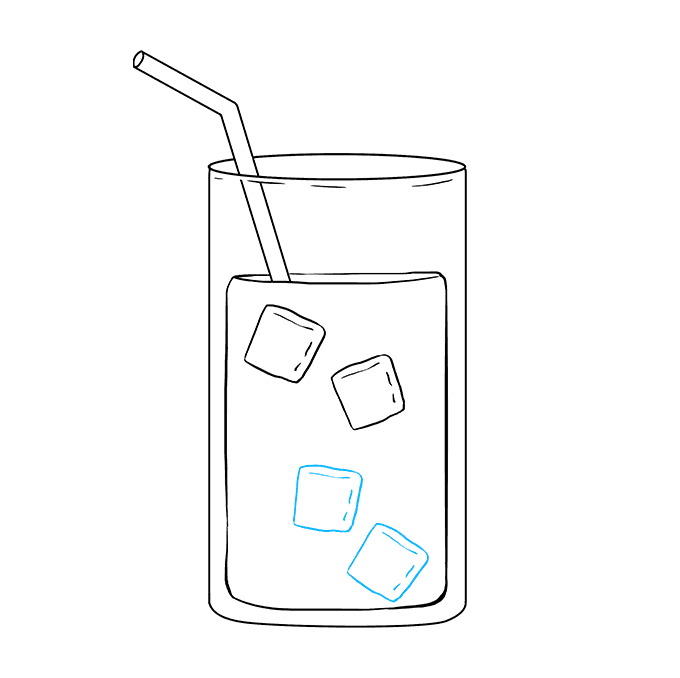 How to Draw Lemonade: Step 6