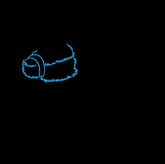 How to Draw a Piñata Step 2