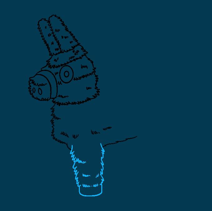 How to Draw a Piñata Step 5