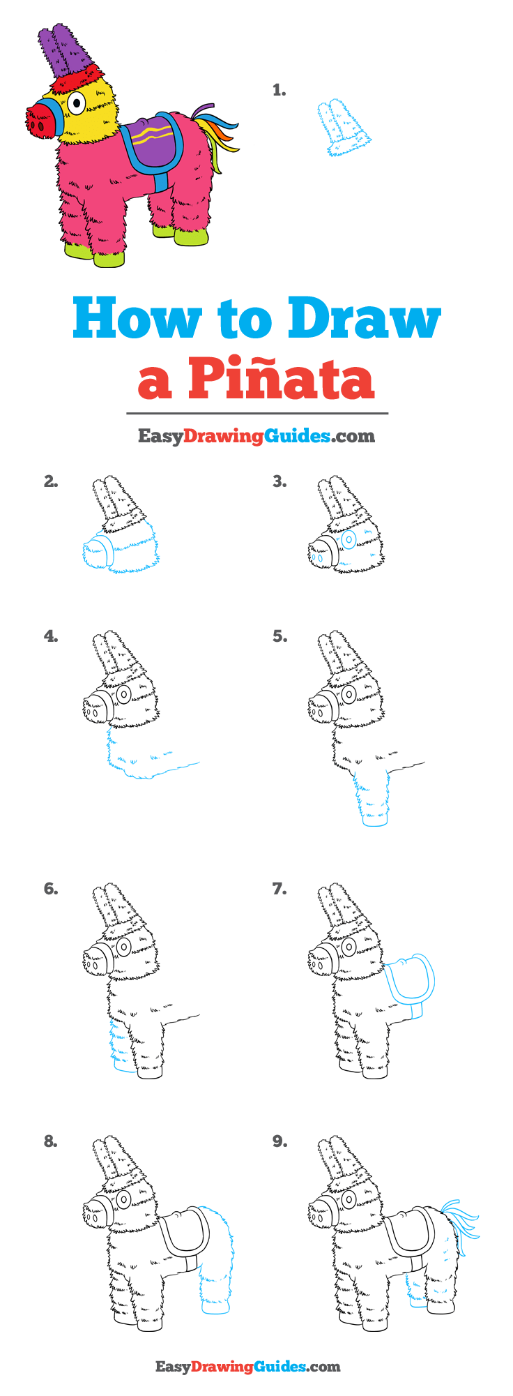 How to Draw Piñata