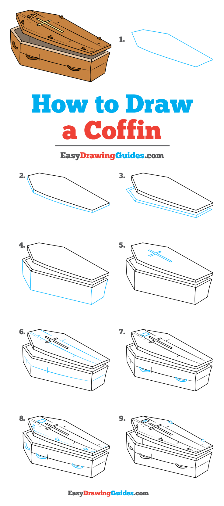 How to Draw Coffin