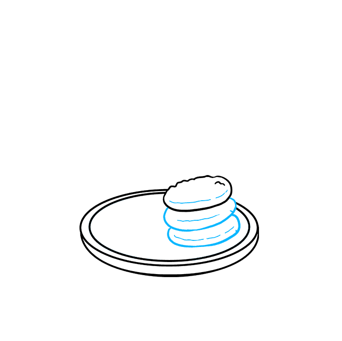 How to Draw Cookies Step 04