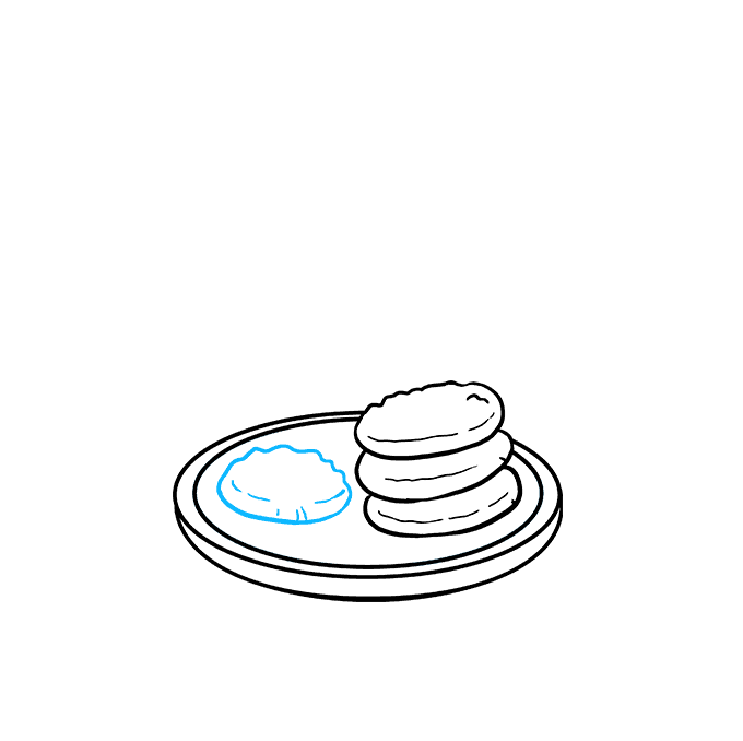 How to Draw Cookies Step 05