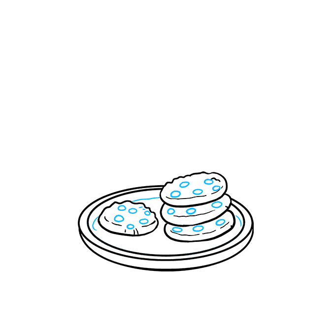 How to Draw Cookies Step 06