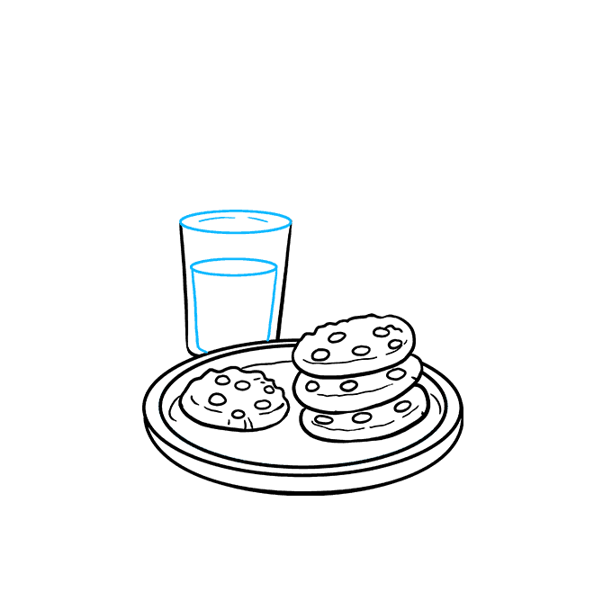 How to Draw Cookies Step 08