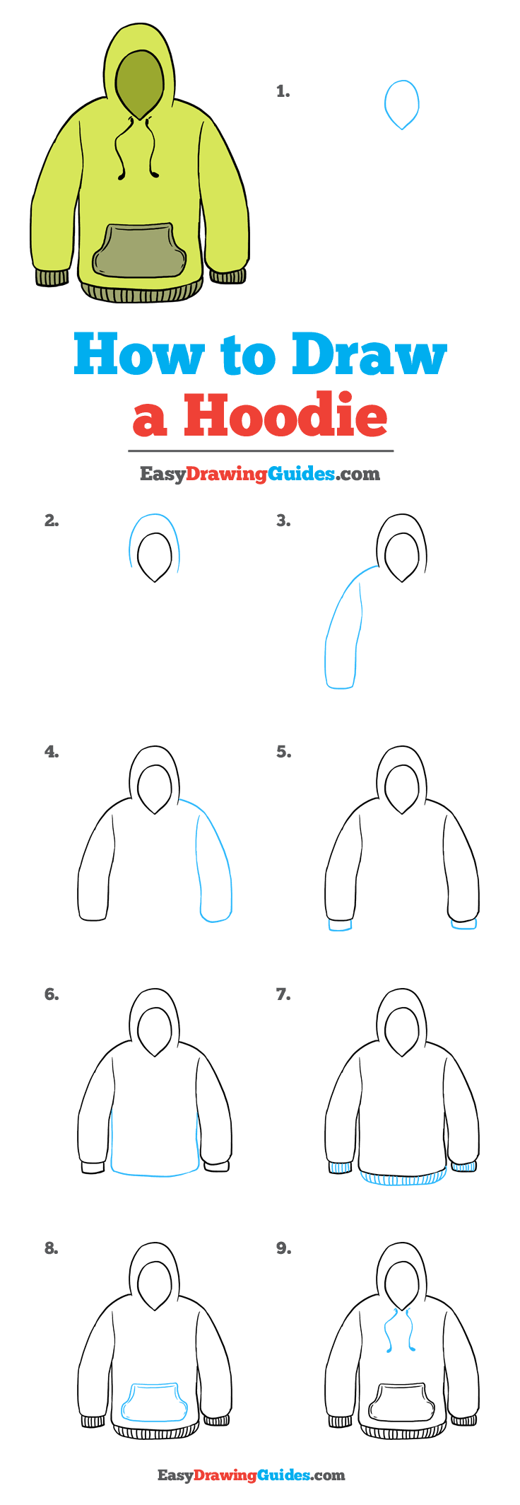 How to Draw Hoodie