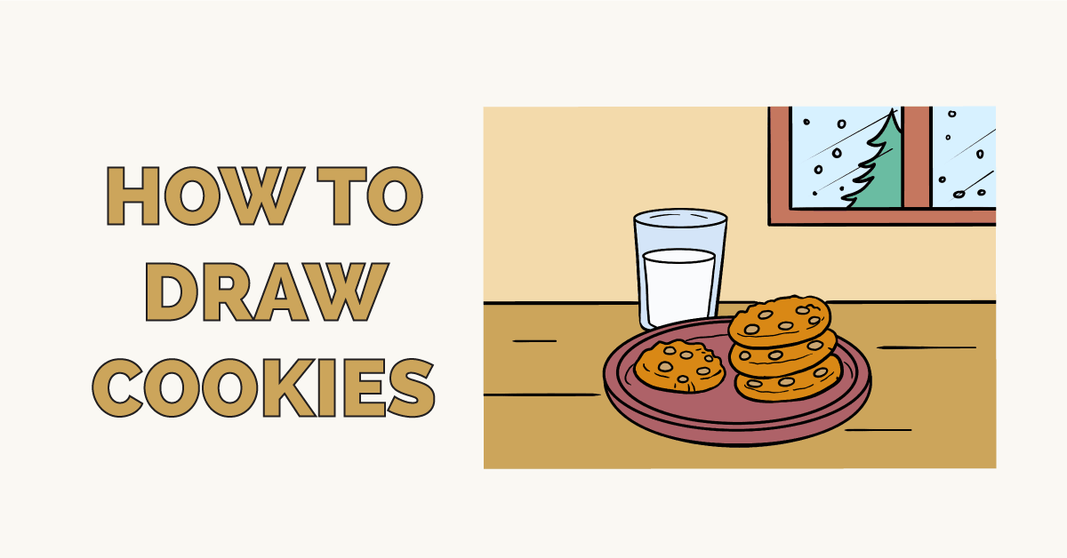 How to Draw Cookies Featured Image