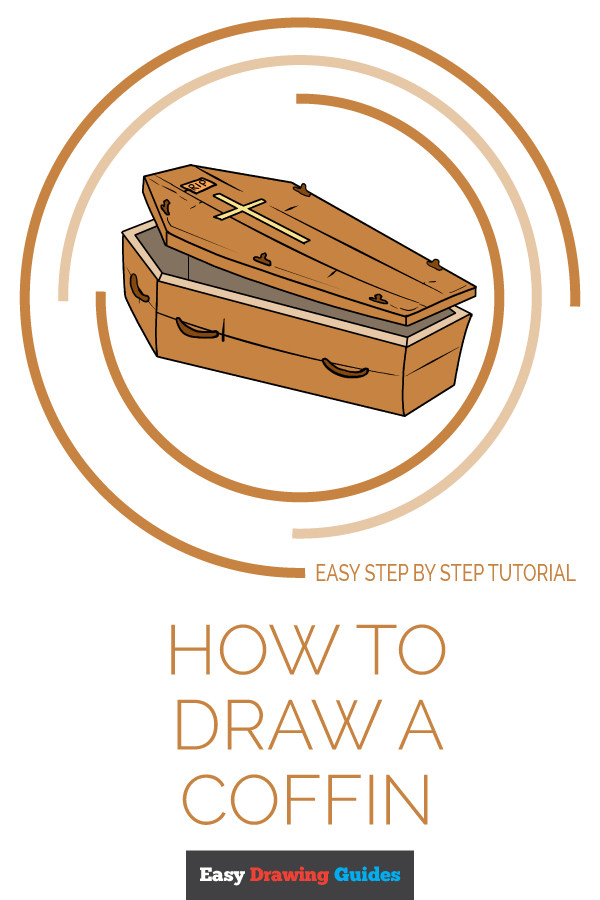 How to Draw Coffin | Share to Pinterest