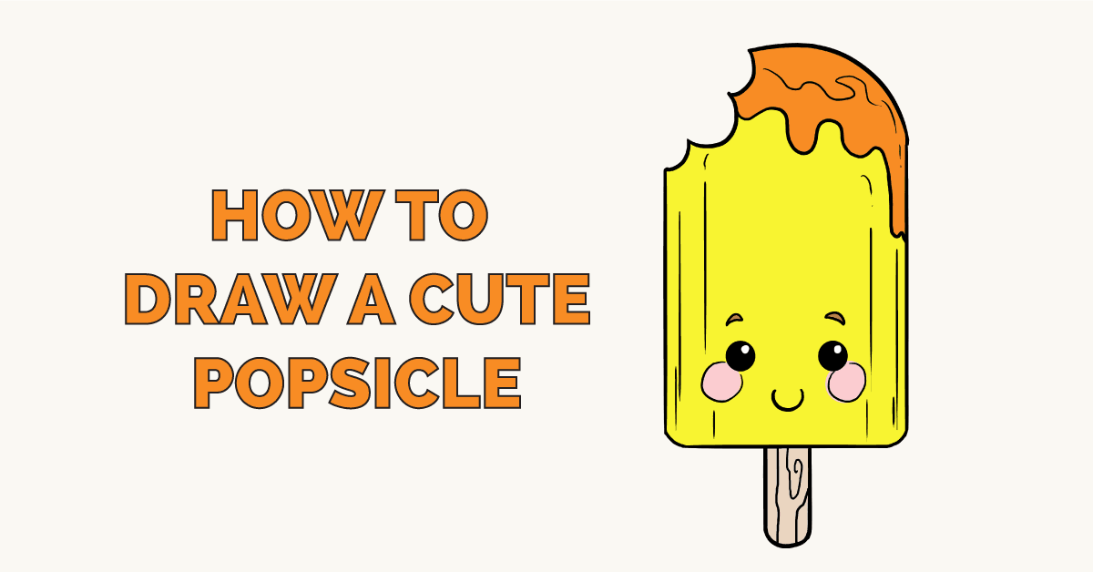 How to Draw a Cute Popsicle Featured Image