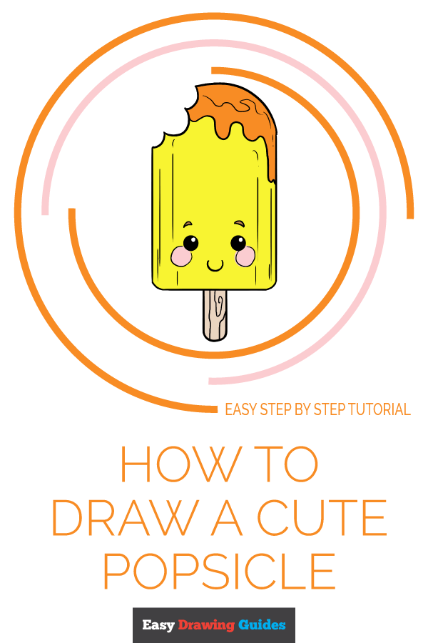 How to Draw Cute Popsicle | Share to Pinterest