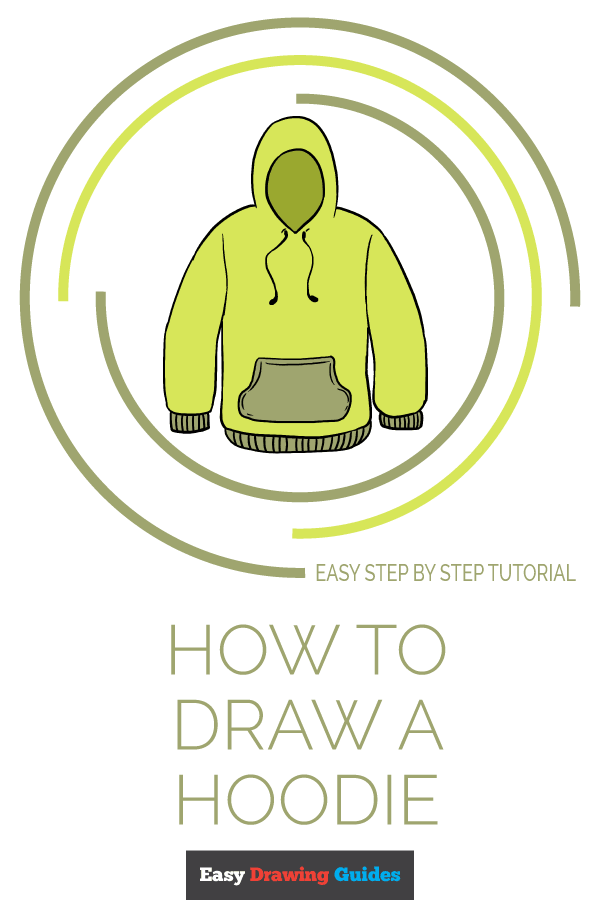 How to Draw Hoodie | Share to Pinterest