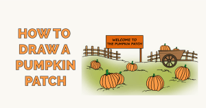 How to Draw a Pumpkin Patch Featured Image