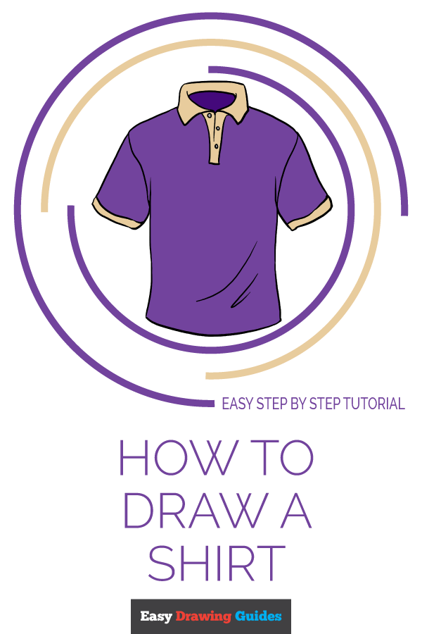 How to Draw Shirt | Share to Pinterest