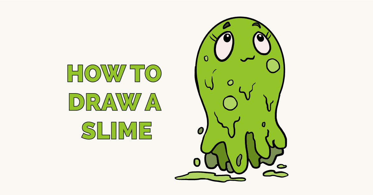 How to Draw a Slime Featured Image