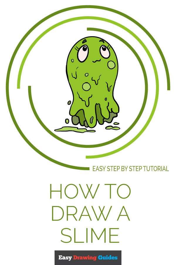 How to Draw Slime | Share to Pinterest