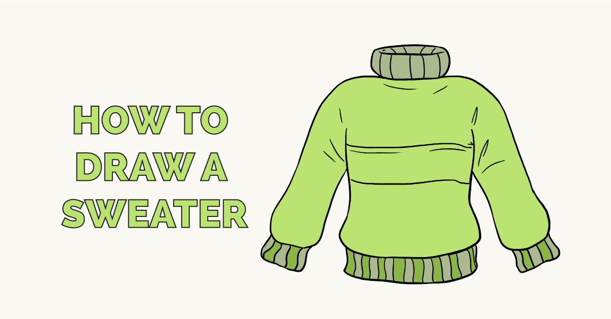 How to Draw a Sweater Featured Image