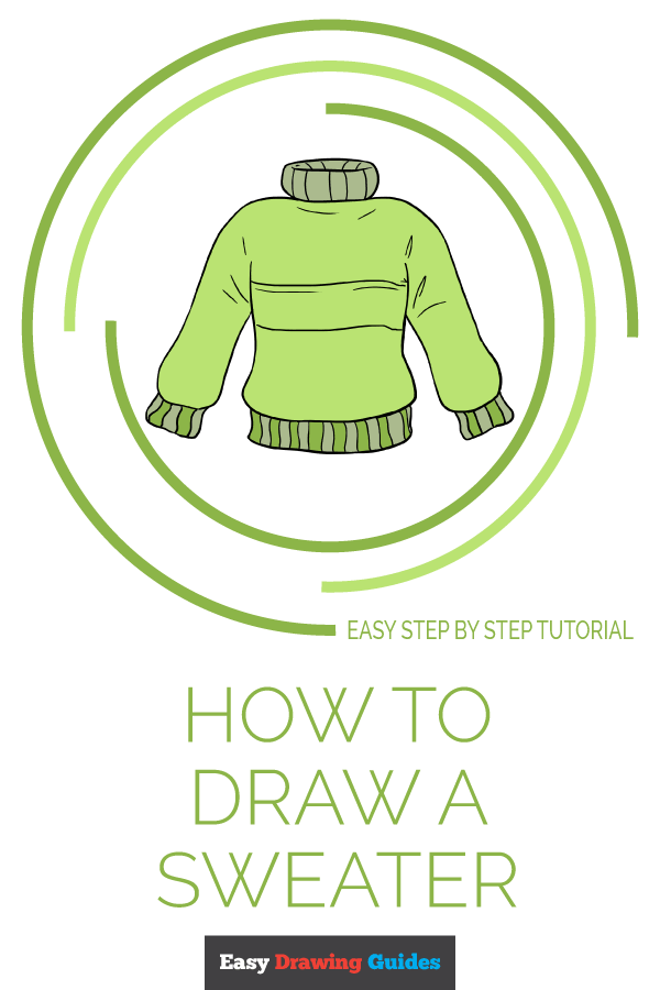 How to Draw Sweater | Share to Pinterest