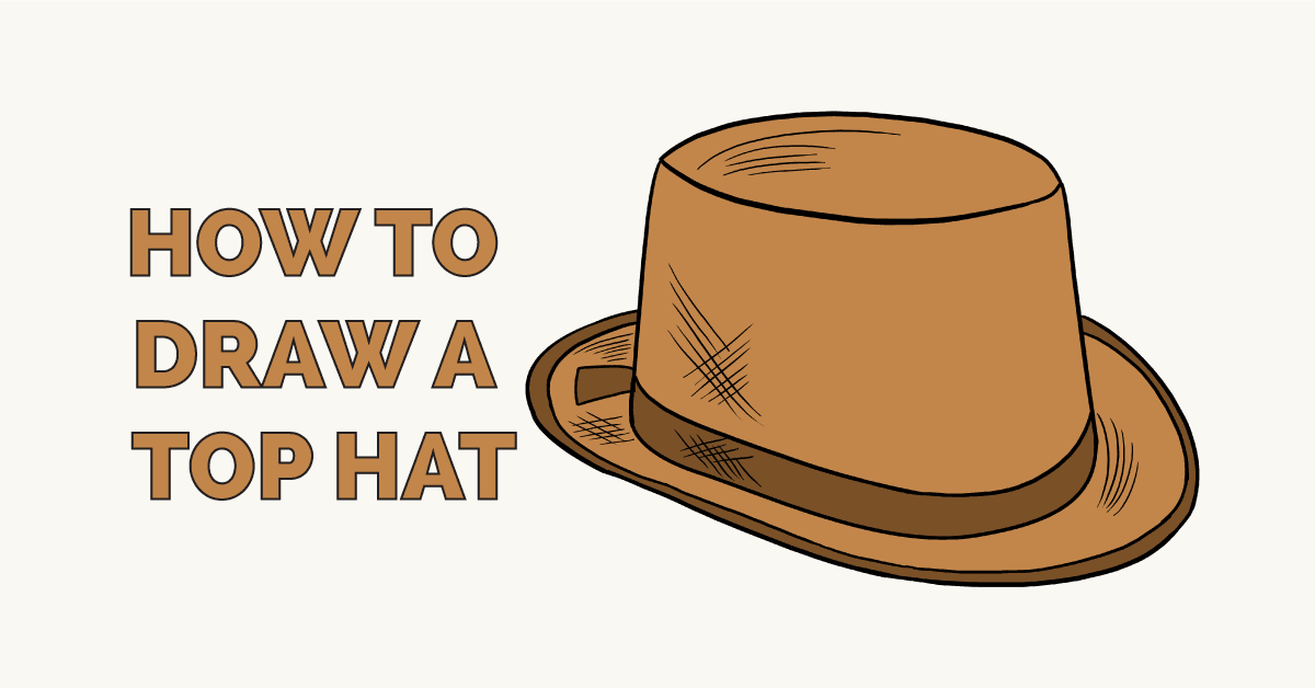 How to Draw a Top Hat Featured Image