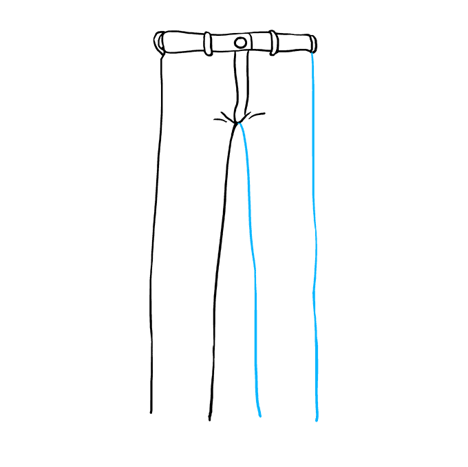 How to Draw Jeans Step 05
