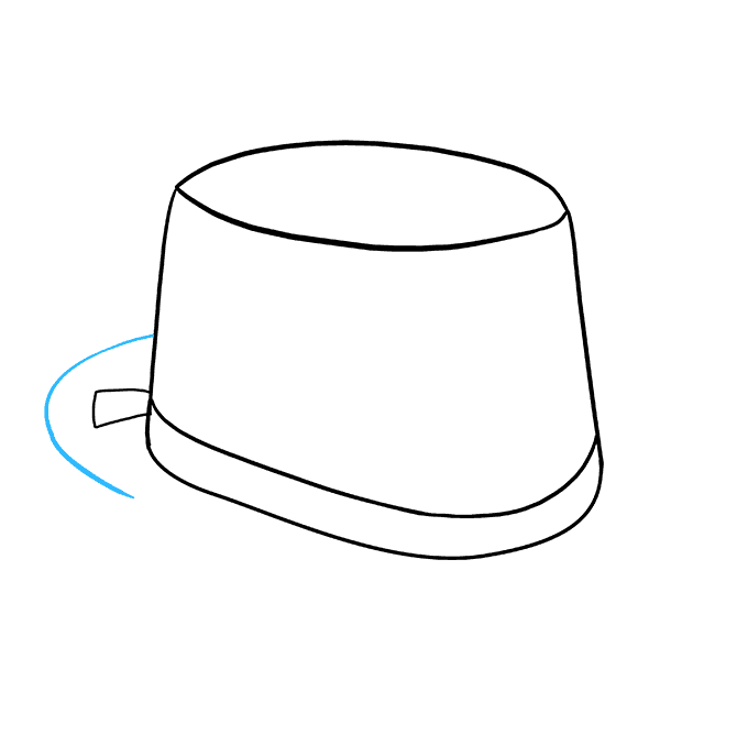 How to Draw Top Hat: Step 5