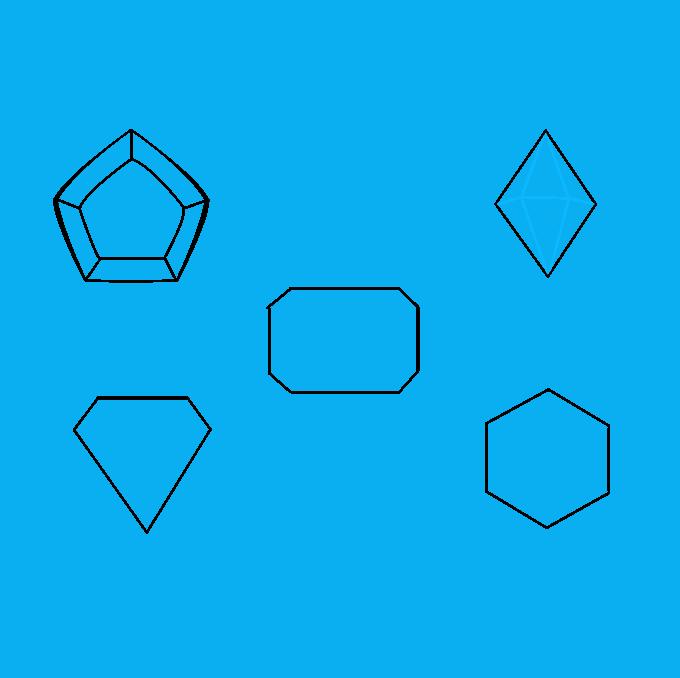 How to Draw Gems: Step 4