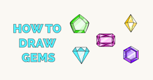 How to Draw Gems Featured Image