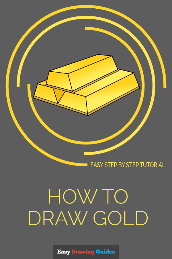How to Draw Gold | Share to Pinterest